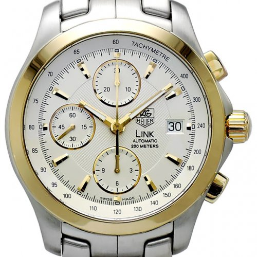 TAGHEUER Link Chronograph Automatic 18K콤비 남성용 기계식자동 42mm 200m CJF2150.BB0590