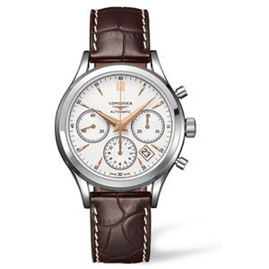 론진 LONGINES Heritage Column-wheel Chrono L2.750.4.76.2(L27504762) 남성용 41mm