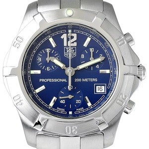 TAGHEUER 2000 Exclusive Chronograph CN1112.BA0337 남성용 40mm 200m