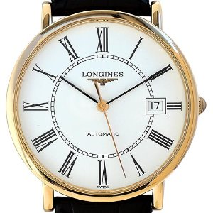LONGINES Elegant Collection Automatic K18핑크골드 37mm L4.787.8.11.0(L47878110) 미착용품