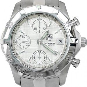 TAG HEUER 2000 Exclusive Chronograph Tachymeter Automatic 남성용스틸 200M 39mm CN2110