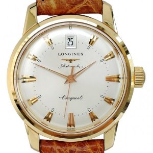 LONGINES Conquest Heritage K18 Rose Gold 남성용기계식자동 35mm L16116782