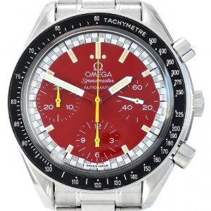 OMEGA Speedmaster Red Reduced Michael Schumacher 39mm 3510.61