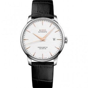 미도 Mido Baroncelli Chronometer Silicon Automatic M027.408.16.031.00 (M0274081603100) 40mm