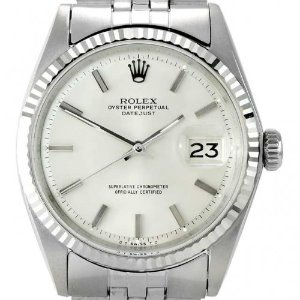 ROLEX Oyster Perpetual DateJust 남성용스틸 기계식자동 엔틱 36mm 1601