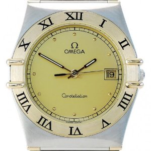 OMEGA Constellation 18K Half Bar 남성용Quartz 32mm 1310.10