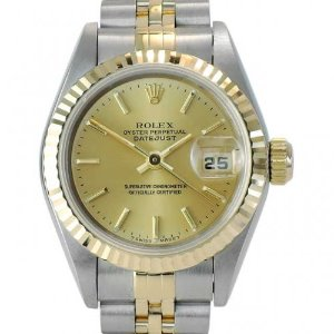 ROLEX Oyster Perpetual DateJust 18K콤비 여성용 기계식자동 26mm 69173