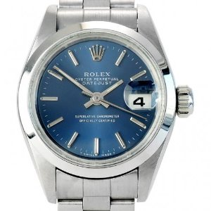 ROLEX Oyster Perpetual Datejust 여성용스틸청판 기계식자동 26mm 69160
