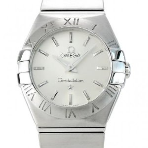 OMEGA Constellation09 Quartz 여성용스틸 100m 24mm 123.10.24.60.02.001(12310246002001)
