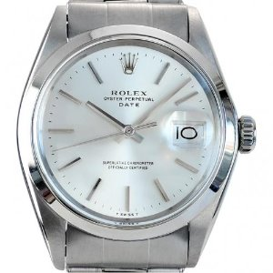 ROLEX Oyster Perpetual Date 남성용스틸 기계식자동 빈티지 34mm 1500