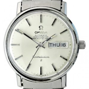 OMEGA Constellation Chronometer Automatic남성용스틸 35mm 168 016 엔틱