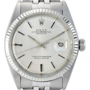 ROLEX Oyster Perpetual DateJust 남성용기계식자동 36mm 1601 엔틱