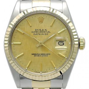 ROLEX Oyster Perpetual DateJust 18K콤비 남성용 기계식자동 36mm 16013 엔틱