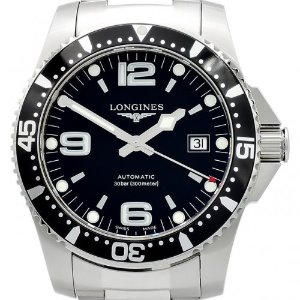 LONGINES HydroConquest Automatic 검정판남성용 300m 41mm L3.642.4.56.6(L36424566)