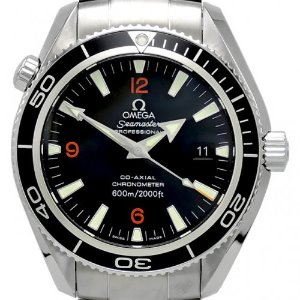 OMEGA Seamaster Professional Co-Axial Planet Ocean Chronometer 남성용스틸 기계식자동 600m 42mm 2201.51