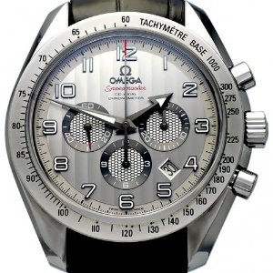 OMEGA Speedmaster Broad Arrow Co-Axial Chronograph 남성용스틸 기계식자동44mm 100m 321.13.44.50.02.001