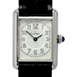 CARTIER Must Silver925 Quartz 여성용22mm W1014254