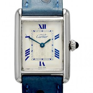 CARTIER Must vermeil Quartz 여성용 22mm W1014054