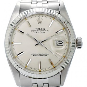 ROLEX Oyster Perpetual DateJust 남성용 기계식자동 36mm 1601 엔틱