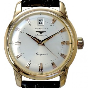 LONGINES Heritage Automatic 18K Pink Gold 남성용 35mm L1.611.8.78.4(L16118784)