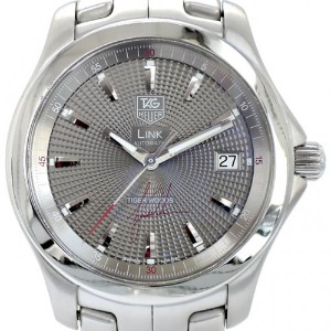 TAGHEUER Link Automatic Tiger Woods Limited Edition 남성용스틸 200m 38mm WJF2113