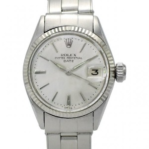 ROLEX Oyster Perpetual Date 여성용스틸 기계식자동 25mm 6517 엔틱