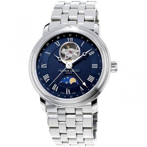 프레드릭 콘스탄트 FREDERIQUE CONSTANT Classics Heart Beat Moonphase Date Pointer FC-335MCNW4P6B 40mm