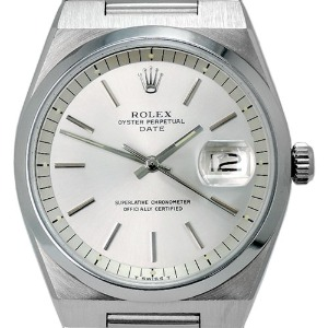 ROLEX Oyster Perpetual Date Automatic 남성용스틸 36mm 1530 엔틱 장농급