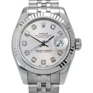ROLEX Oyster Perpetual DateJust 여성용신형 기계식자동 26mm 100m 179174G