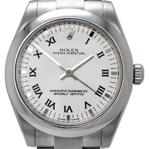 Rolex Oyster Perpetual Automatic 여성용스틸 100m 31mm 177200