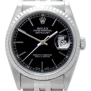 ROLEX Oyster Perpetual DateJust 남성용스틸 기계식자동36mm 16220