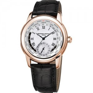 [정품] 프레드릭 콘스탄트 Classics Worldtimer Manufacture Limited Edition FC-718MC4H4 (1888 pieces)
