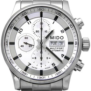 MIDO MULTIFORT Chronograph M005.614.11.037.01 남성용 44mm