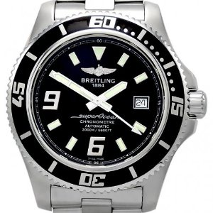 BREITLING Superocean 44 남성용스틸 Automatic 2000m 44mm A1739102