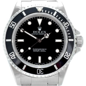 ROLEX Oyster Perpetual Submariner Non Date 남성용기계식자동 300m 40mm 14060