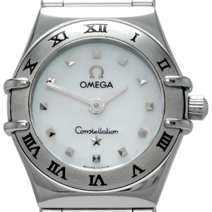 OMEGA Constellation My Choice Lady-mini Quartz 여성용스틸 자개판 22.5mm 1561.71