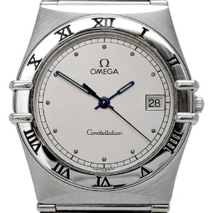 OMEGA Constellation Quartz 남성용스틸 32mm 1510.30 엔틱
